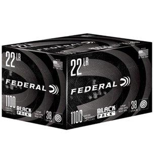 Federal Ammunition Federal Black Pack 22LR 38 GR HP 1100RDS