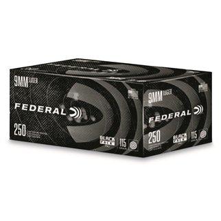 Blazer (CCI) CCI Blazer Black Pack 9mm 115g 250rd