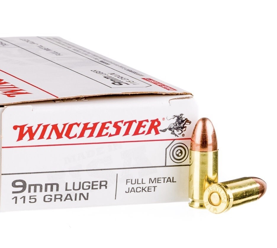 Winchester Winchester 115gr 9mm 500 rounds