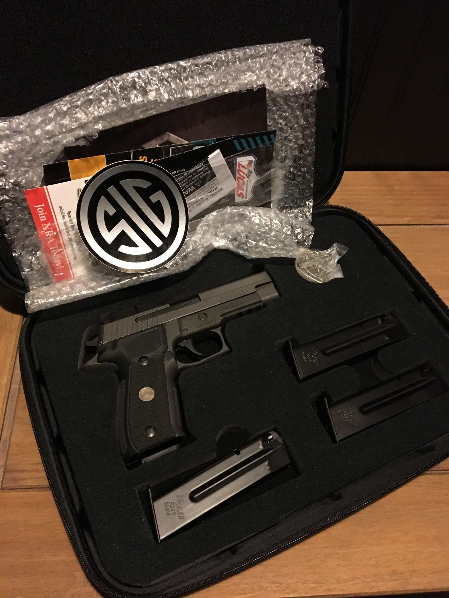 - Previously Enjoyed - Sig Sauer Legion 9mm
