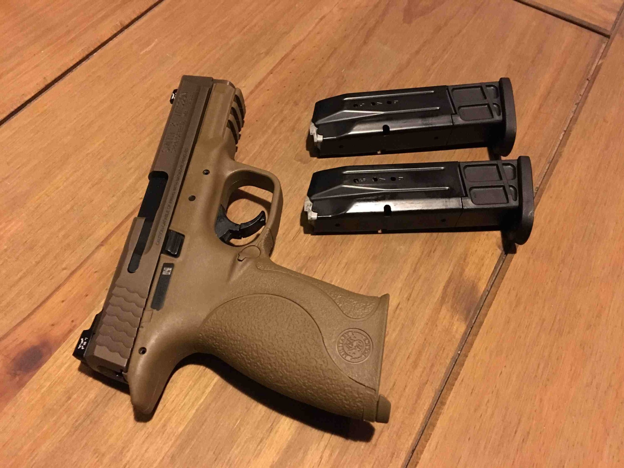 - Previously Enjoyed - Smith & Wesson M&P VTAC 9mm