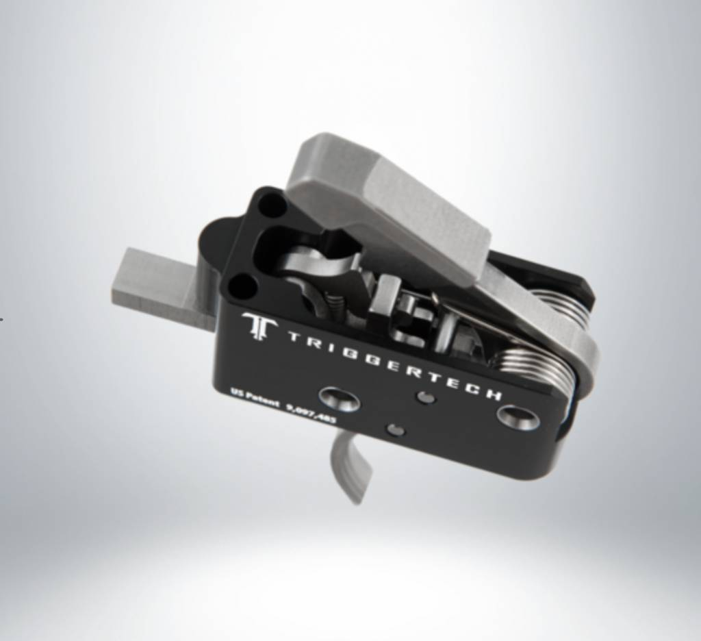 Trigger Tech Trigger Tech AR 15 Curved Competitive AR Primary Trigger