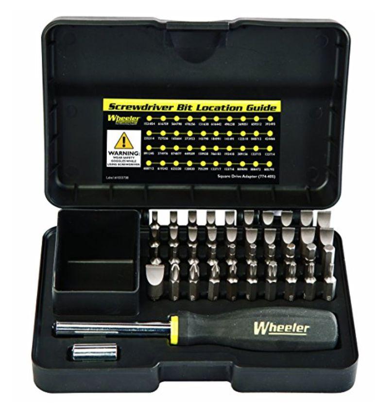 Wheeler Engineering Wheeler Industries 43 Piece Professional Gunsmithing Screwdriver Set