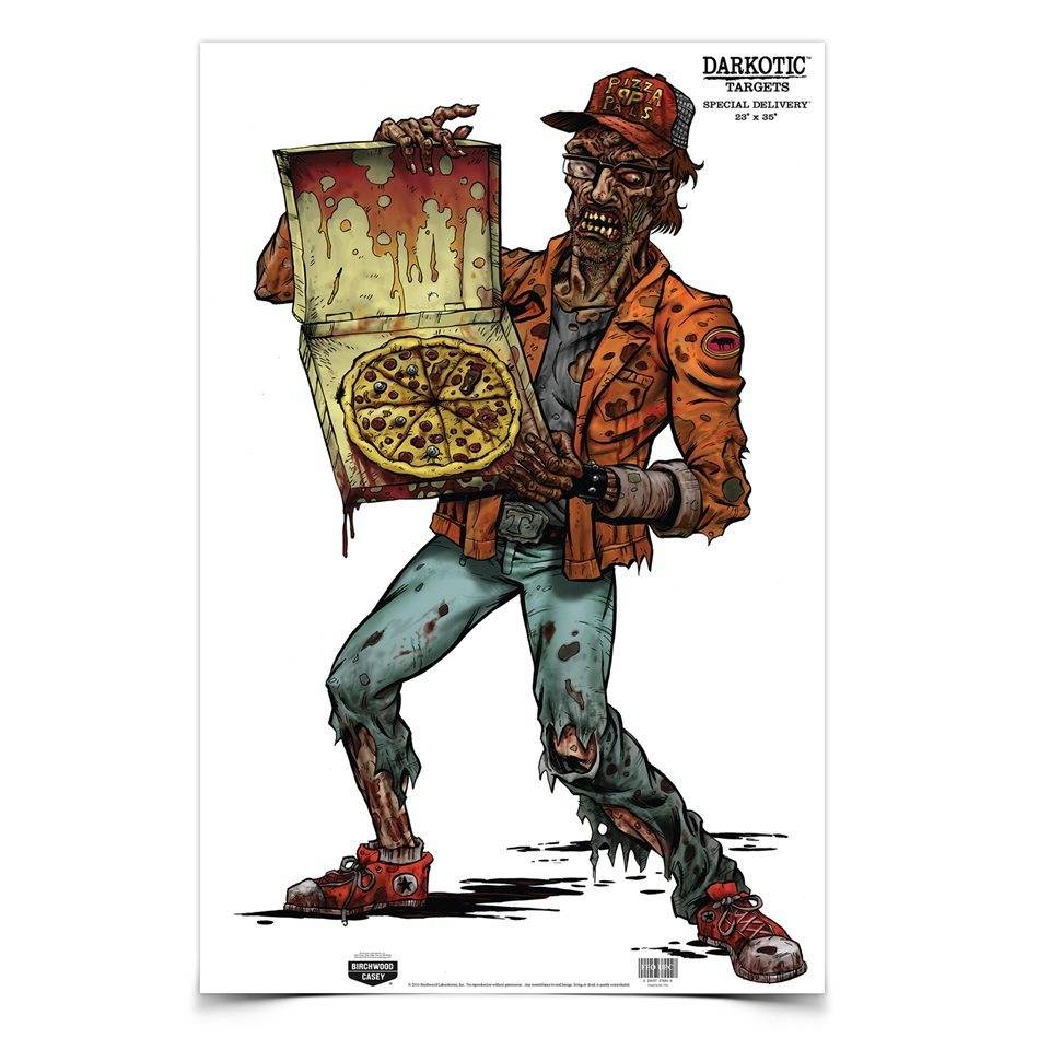 "Birchwood Casey Birchwood Casey Darkotic® 23"" x 35"" Special Delivery® Paper Target"