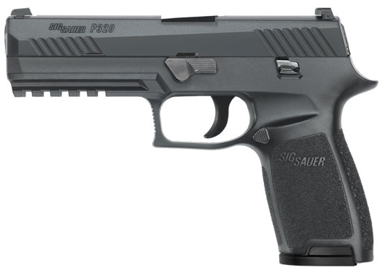 "Sig Sauer SIG SAUER P320 - 9MM, 4.7"", CONTRAST SIGHTS"