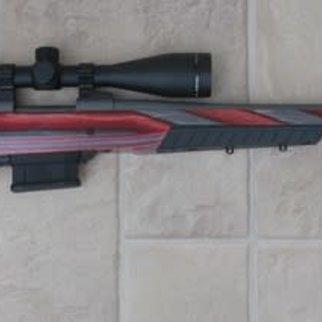"Howa Howa M1500 Laminate 6.5 Creedmore 22"" threaded brl w/ Truglo 4-12x44 scope Apple Jack Boyds Stock"