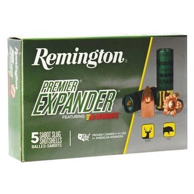 """Remington Remington Premium Expander 12g 3"""" 438gr"""