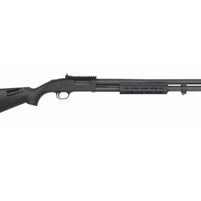 """Mossberg MOSSBERG 590A1 12GA, 20"""" CYL/M-LOK FOREND PARKERIZED/SYN, 4 SHELL HOLDER"""
