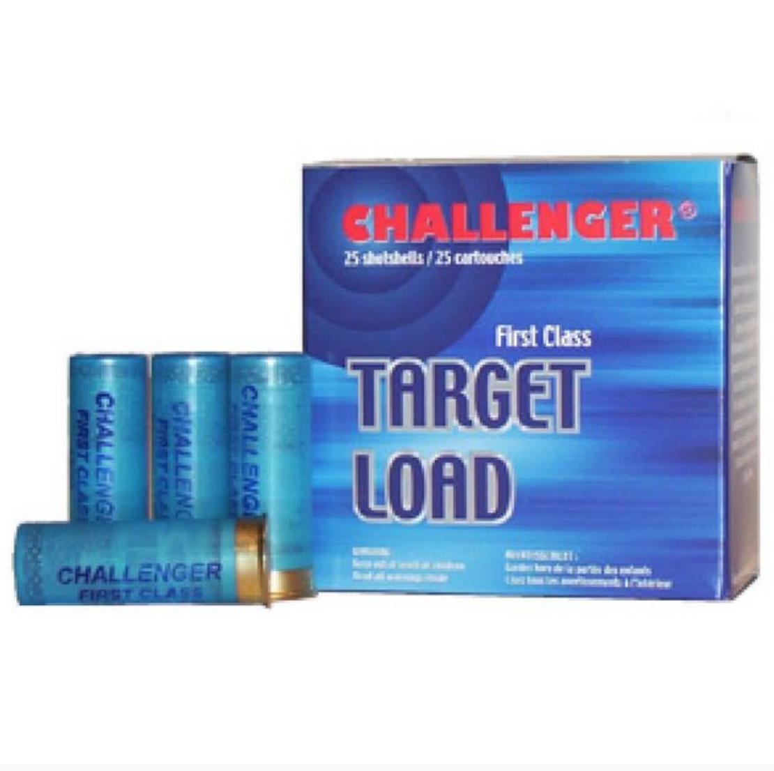 Challenger Ammunition Challenger 12g 8 1 1/8 oz Target Load