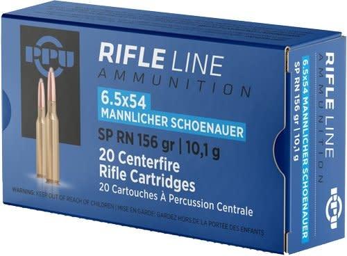 PPU PPU 6.5x54 Mannlicher 156gr Box of 20