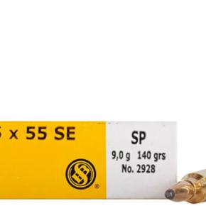 Sellier & Bellot Sellier & Bellot 6.5x55 SE SP 140g Box of 20