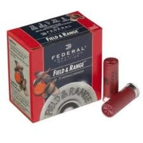 Federal Ammunition Federal Field & Range 12ga.  #6 Box of 25