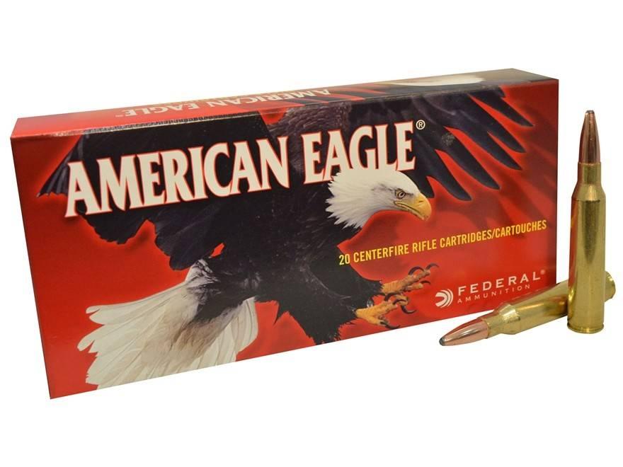American Eagle Federal American Eagle 338 Lapua Magnum 250 Gr. Pointed SP Box of 20