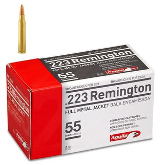 Aguila Aguila 223 Rem 55gr  FMJ BT, Box of 50