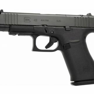 Glock Glock 48 BLK 9mm MOS Rail FS