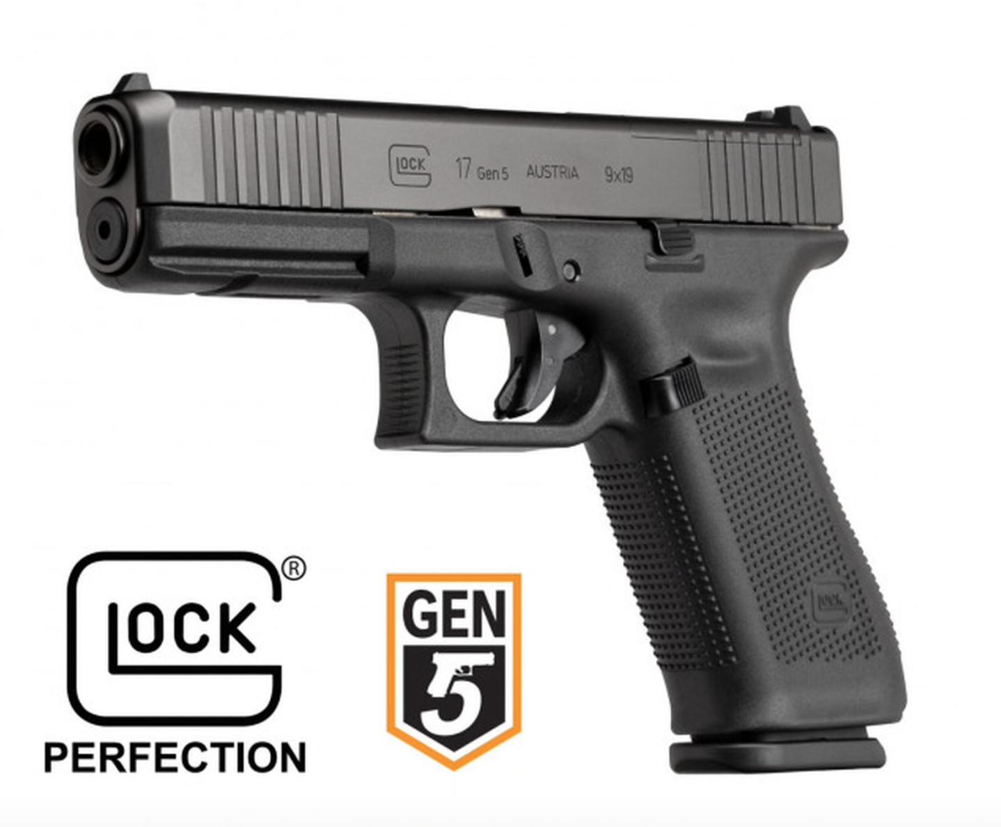 Glock Glock 17 Gen 5 MOS FS Pistol 9mm