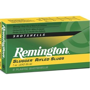 "Remington Remington 12G, Slugger 3"" 1oz Box of 5"