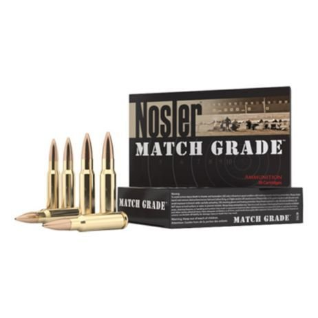 Nosler Nosler Custom Competition Grade Ammunition 308 Win 168g HPBT 20 per box
