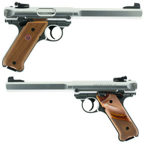 "Ruger Ruger Mark IV Competition Semi-Auto Pistol .22LR 6.8"" Barrel 10 Rounds Slab-Sided Bull Barrel"