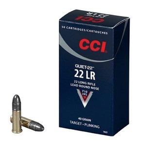 CCI CCI .22LR Quiet 40 Gr. 50 per box