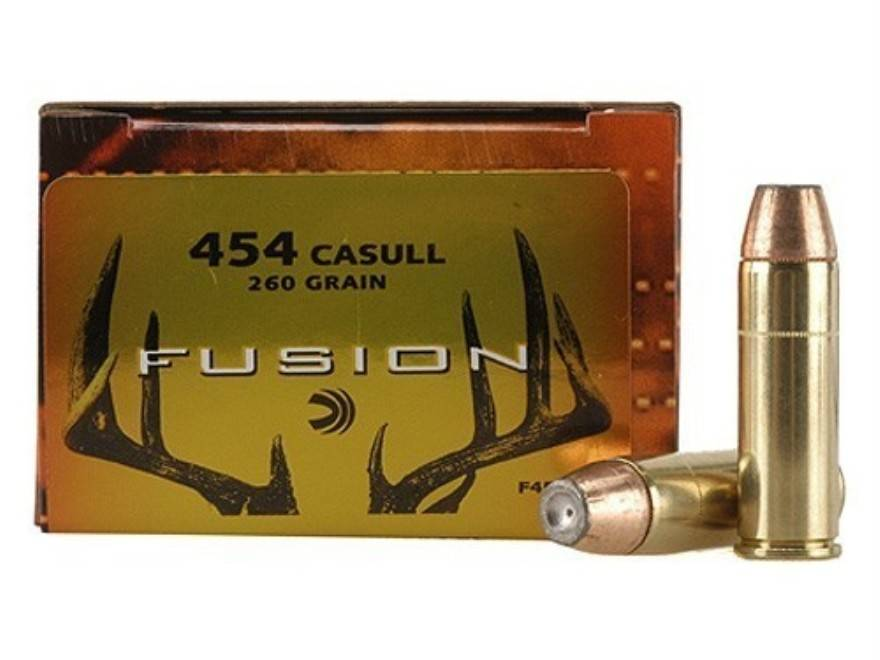 Federal Ammunition Fusion 454 Casull 260 Grain Box of 20