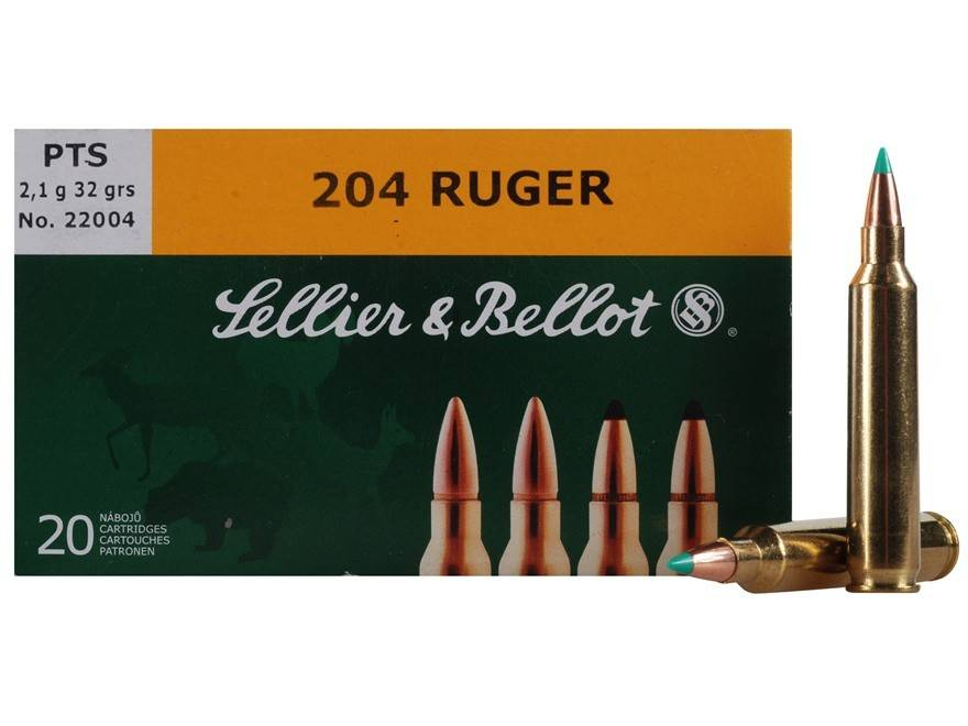 Sellier & Bellot Sellier & Bellot 204 Ruger 32 Grain