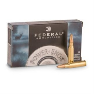 Federal Ammunition Federal Power-Shok Ammunition 30-06 Springfield 150 Grain Soft Point Box of 20