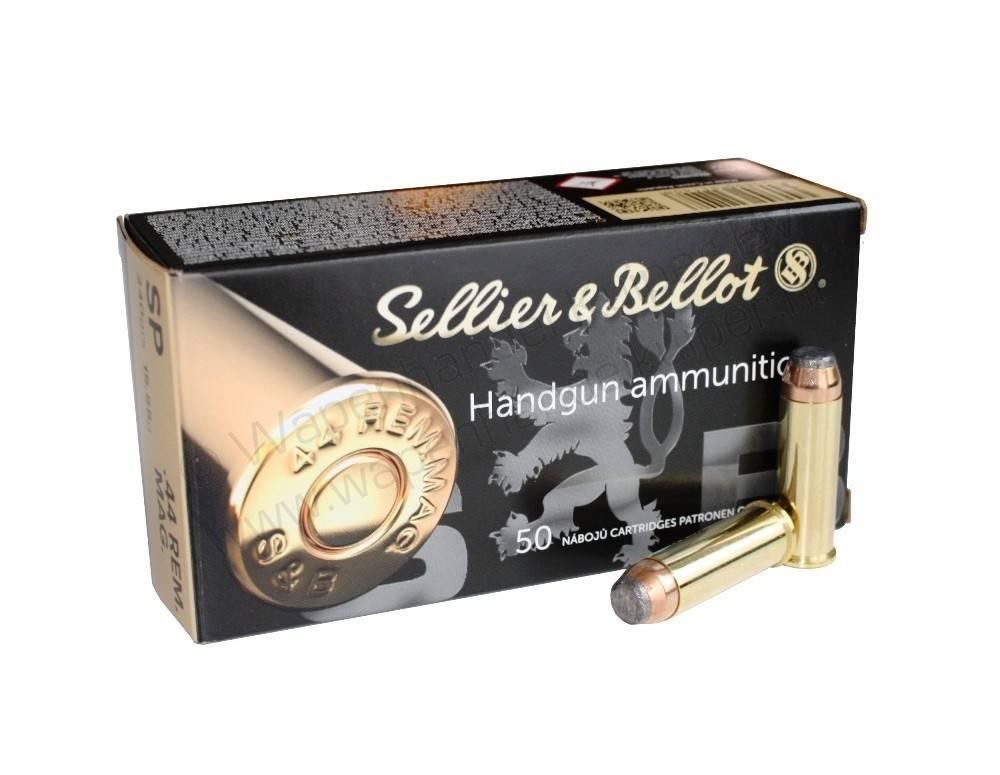 Sellier & Bellot Sellier & Bellot .44 Rem. Mag. SP 240 Gr. Box of 50
