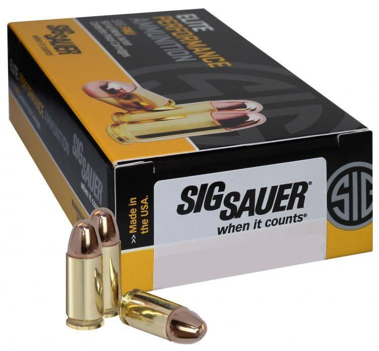 Sig Sauer Sig Sauer Elite Performance 40 S&W 180 gr. FMJ Box of 50