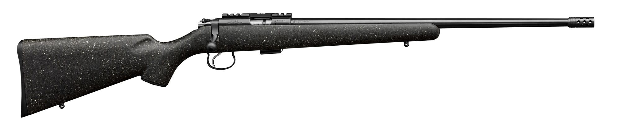 "CZ 455 Night Sky .22LR 20"" barrel w/ compensator"