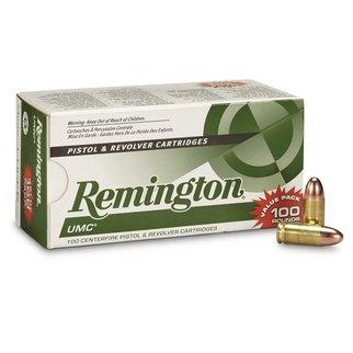 Remington UMC 9mm 115gr FMJ Box of 500