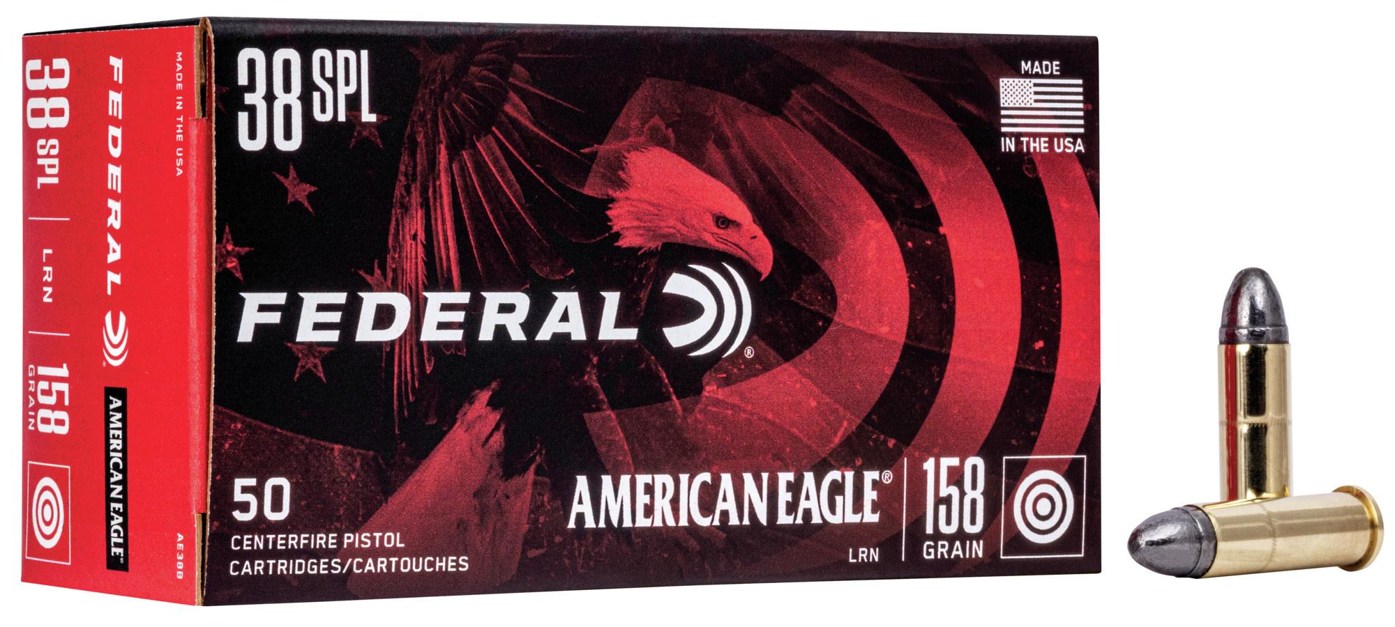 Federal Ammunition Federal 38 Special 158grain LEAD RN