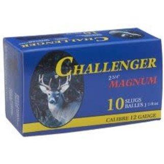 """Sellier & Bellot Challenger 0200 Rifled Slug Magnum 2 3/4"""" 12 gauge Box of 10"""