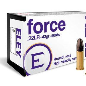 Eley Force 22LR LRN 42gr Box of 50