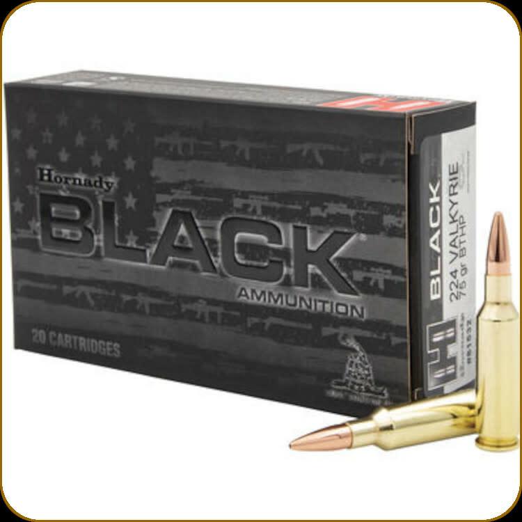 Hornady Hornady Black 224 Valkyrie 75g BTHP