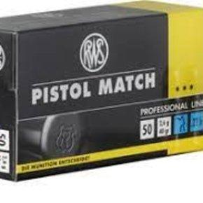 RWS RWS Pistol Match 22LR