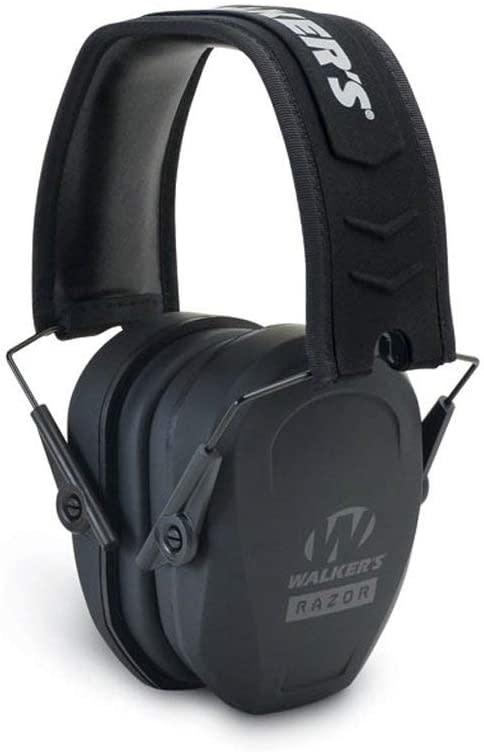 Walkers WALKERS Razor Slim Passive Earmuff Ultra Low-Profile