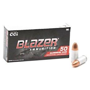 Blazer (CCI) CCI Blazer 9mm FMJ 115 Grain Aluminum Case
