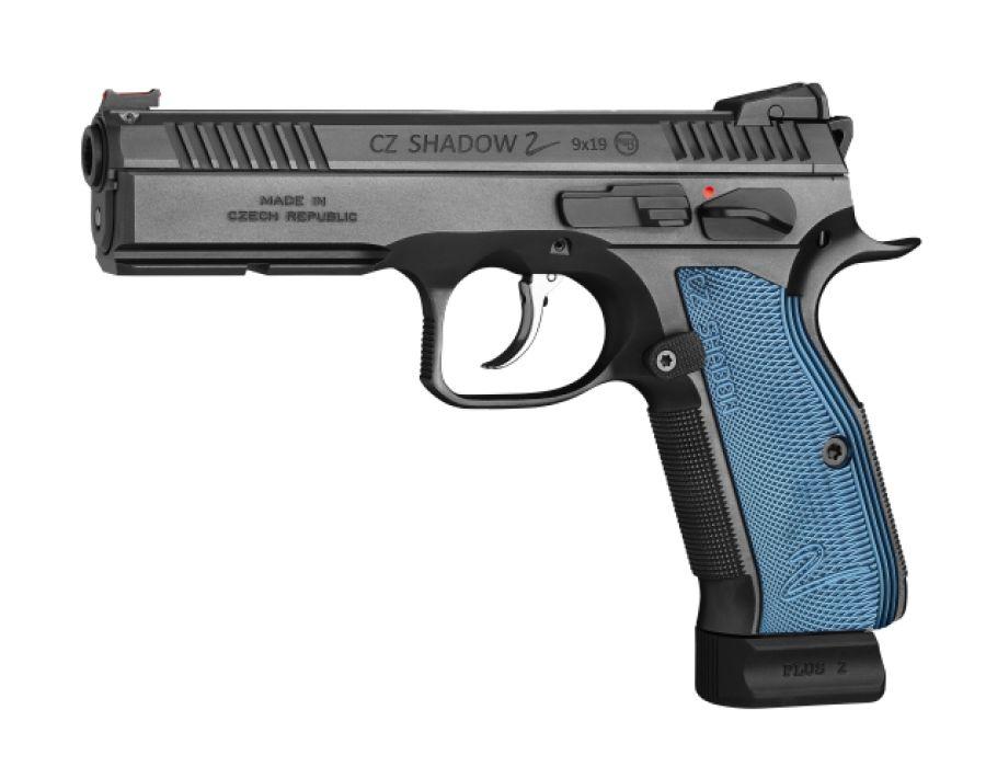"""CZ CZ Shadow 2 Blue 9mm 5"""""""