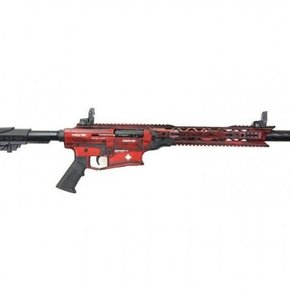 "Derya Derya Arms MK12, Distressed Red/White Maple Leaf - 12GA, 3"", 20"" Barrel"