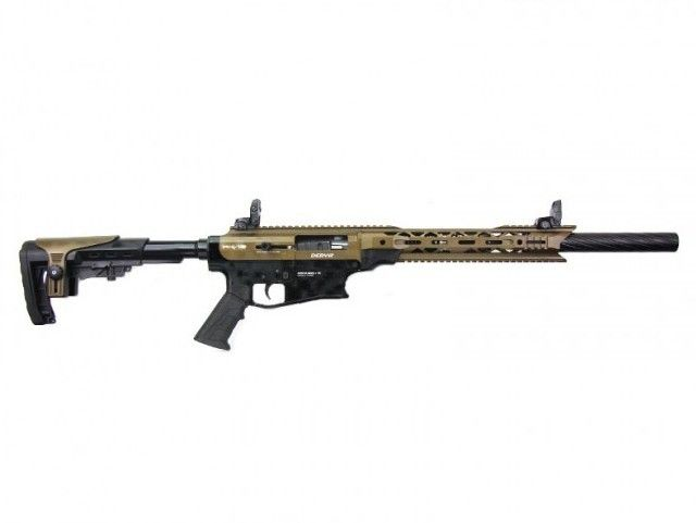 "Derya Derya Arms MK12, Tan/Black - 12GA, 3"", 20"" Barrel"