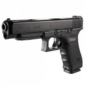 Glock Glock 35 Gen 4 Semi-Auto Pistol, .40 S&W, Black Finish, Adjustable Sights, 10 Round