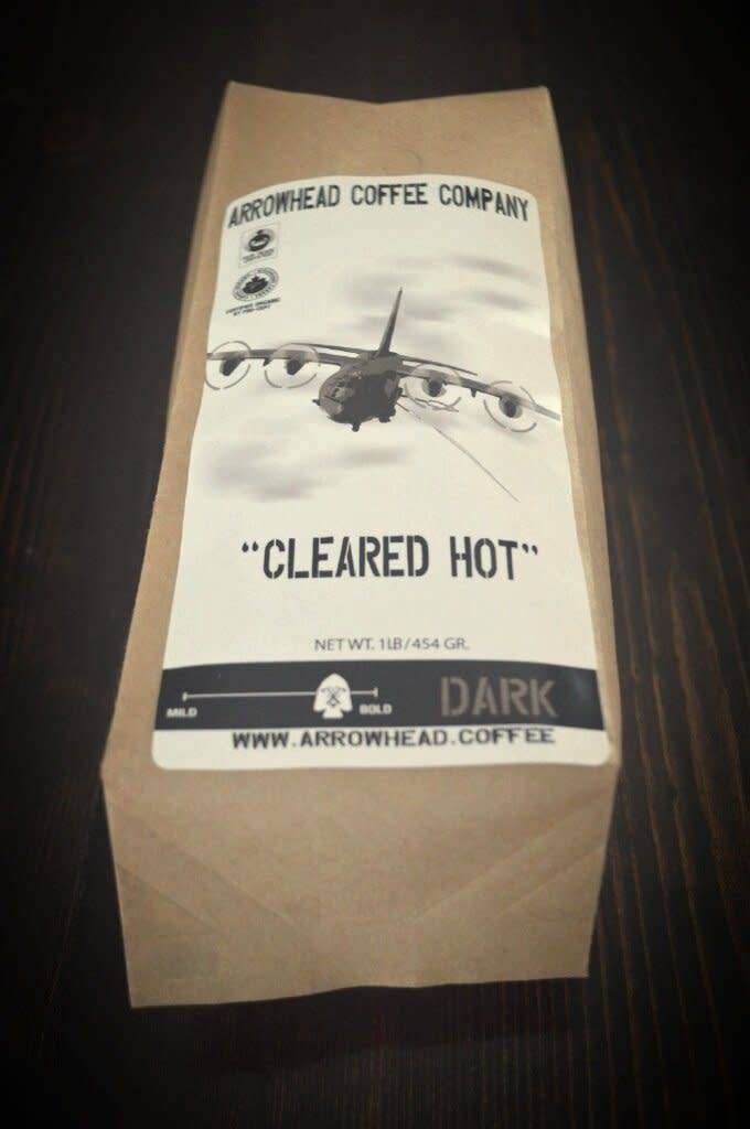 Arrowhead Coffee Arrowhead CLEARED HOT - ESPRESSO BLEND - DARK COFFEE