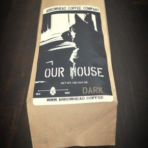 Arrowhead Coffee Arrowhead OUR HOUSE BREW - FRENCH ROAST - DARK COFFEE