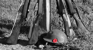 Remembrance Day Ceremony at Silverdale Gun Club