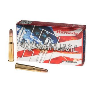 Hornady HORNADY AMERICAN WHITETAIL 30-30 WINCHESTER 150 GRAIN INTERLOCK SPIRE POINT BOAT TAIL BOX OF 20