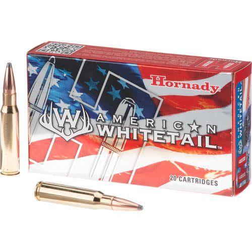 Hornady HORNADY AMERICAN WHITETAIL 308 WINCHESTER 150 GRAIN INTERLOCK SPIRE POINT BOX OF 20