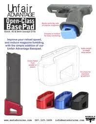 Matador Arms Corp Matador Unfair Advantage Open-Class BasePad BLUE