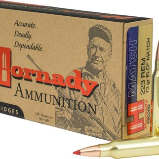 Hornady Hornady 223 REM 73 GR ELD Match Box Of 20
