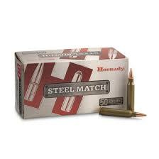 Hornady Hornady Steel Match 223 Remington 75 Grain BTHP Box Of 50